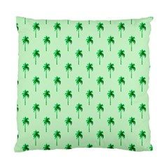 Palm Tree Coconoute Green Sea Standard Cushion Case (Two Sides)