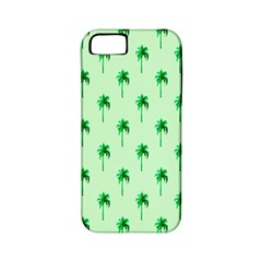 Palm Tree Coconoute Green Sea Apple iPhone 5 Classic Hardshell Case (PC+Silicone)