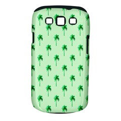 Palm Tree Coconoute Green Sea Samsung Galaxy S III Classic Hardshell Case (PC+Silicone)