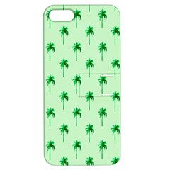 Palm Tree Coconoute Green Sea Apple iPhone 5 Hardshell Case with Stand