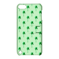 Palm Tree Coconoute Green Sea Apple iPod Touch 5 Hardshell Case with Stand