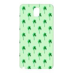 Palm Tree Coconoute Green Sea Samsung Galaxy Note 3 N9005 Hardshell Back Case