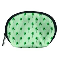 Palm Tree Coconoute Green Sea Accessory Pouches (Medium)