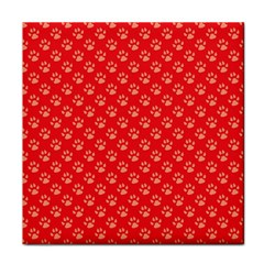 Paw Print Background Wallpaper Cute Paw Print Background Footprint Red Animals Face Towel