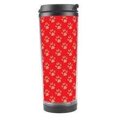 Paw Print Background Wallpaper Cute Paw Print Background Footprint Red Animals Travel Tumbler
