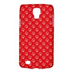 Paw Print Background Wallpaper Cute Paw Print Background Footprint Red Animals Galaxy S4 Active