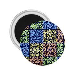 Puzzle Color 2.25  Magnets