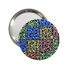 Puzzle Color 2.25  Handbag Mirrors