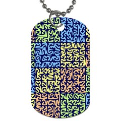 Puzzle Color Dog Tag (One Side)