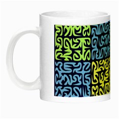 Puzzle Color Night Luminous Mugs