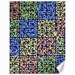 Puzzle Color Canvas 12  x 16