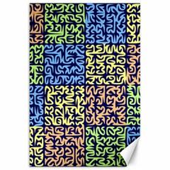 Puzzle Color Canvas 20  x 30