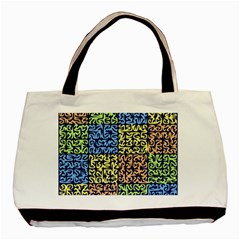 Puzzle Color Basic Tote Bag (Two Sides)