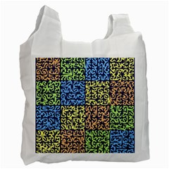 Puzzle Color Recycle Bag (One Side)