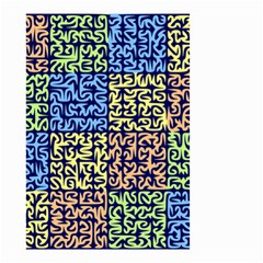Puzzle Color Small Garden Flag (Two Sides)