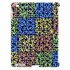 Puzzle Color Apple iPad 3/4 Hardshell Case (Compatible with Smart Cover)