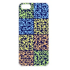 Puzzle Color Apple iPhone 5 Seamless Case (White)