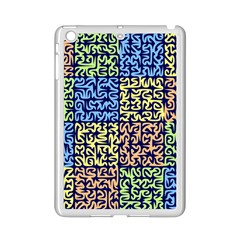 Puzzle Color iPad Mini 2 Enamel Coated Cases