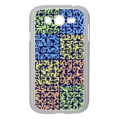 Puzzle Color Samsung Galaxy Grand DUOS I9082 Case (White)