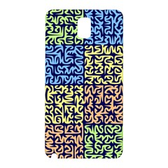 Puzzle Color Samsung Galaxy Note 3 N9005 Hardshell Back Case