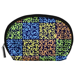 Puzzle Color Accessory Pouches (Large)