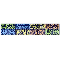 Puzzle Color Flano Scarf (Large)