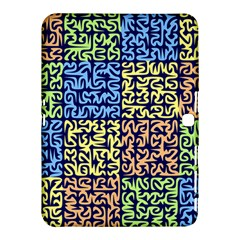 Puzzle Color Samsung Galaxy Tab 4 (10.1 ) Hardshell Case