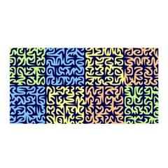 Puzzle Color Satin Wrap