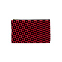 Queen Hearts Card King Cosmetic Bag (Small)