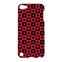 Queen Hearts Card King Apple iPod Touch 5 Hardshell Case