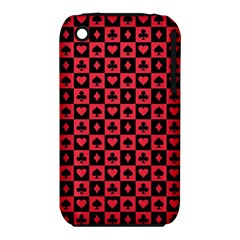 Queen Hearts Card King iPhone 3S/3GS