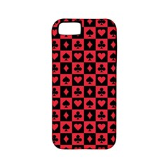 Queen Hearts Card King Apple iPhone 5 Classic Hardshell Case (PC+Silicone)