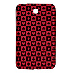 Queen Hearts Card King Samsung Galaxy Tab 3 (7 ) P3200 Hardshell Case