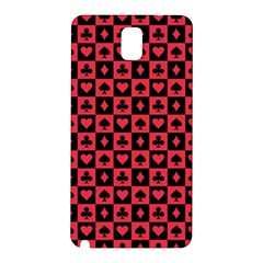 Queen Hearts Card King Samsung Galaxy Note 3 N9005 Hardshell Back Case
