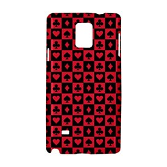 Queen Hearts Card King Samsung Galaxy Note 4 Hardshell Case
