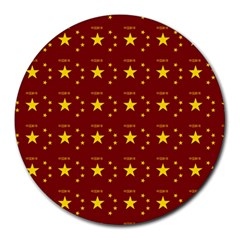 Chinese New Year Pattern Round Mousepads