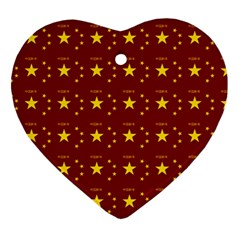 Chinese New Year Pattern Ornament (Heart)
