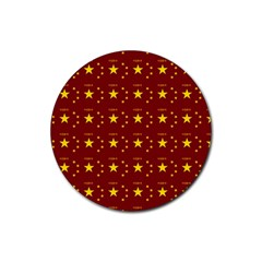 Chinese New Year Pattern Rubber Coaster (Round)