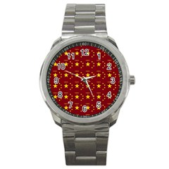 Chinese New Year Pattern Sport Metal Watch