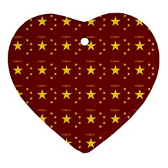 Chinese New Year Pattern Heart Ornament (Two Sides)