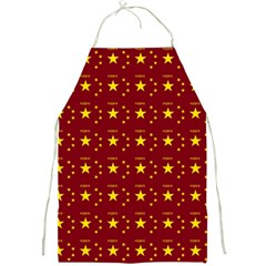 Chinese New Year Pattern Full Print Aprons