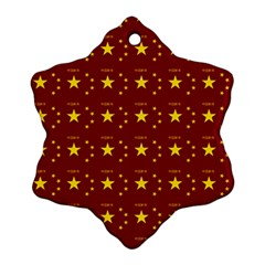 Chinese New Year Pattern Snowflake Ornament (Two Sides)