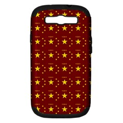 Chinese New Year Pattern Samsung Galaxy S III Hardshell Case (PC+Silicone)