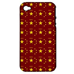 Chinese New Year Pattern Apple iPhone 4/4S Hardshell Case (PC+Silicone)