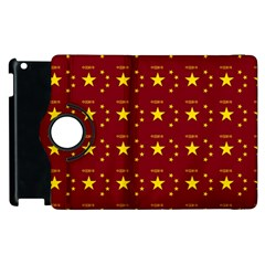 Chinese New Year Pattern Apple iPad 2 Flip 360 Case
