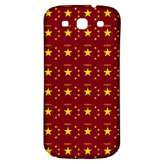 Chinese New Year Pattern Samsung Galaxy S3 S III Classic Hardshell Back Case
