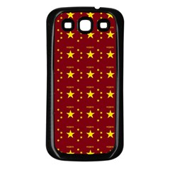 Chinese New Year Pattern Samsung Galaxy S3 Back Case (Black)