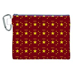 Chinese New Year Pattern Canvas Cosmetic Bag (XXL)