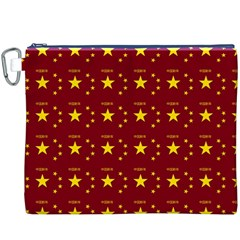 Chinese New Year Pattern Canvas Cosmetic Bag (XXXL)