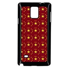 Chinese New Year Pattern Samsung Galaxy Note 4 Case (Black)